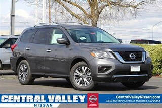 New 2019 Nissan Pathfinder S SUV 5N1DR2MN1KC602461 for sale in Modesto, CA at Central Valley Nissan