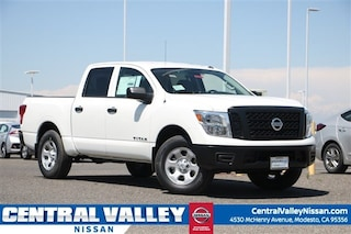 New 2019 Nissan Titan S Truck Crew Cab 1N6AA1EJ7KN522295 for sale in Modesto, CA at Central Valley Nissan