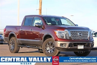 New 2019 Nissan Titan Platinum Reserve Truck Crew Cab 1N6AA1E55KN507183 for sale in Modesto, CA at Central Valley Nissan