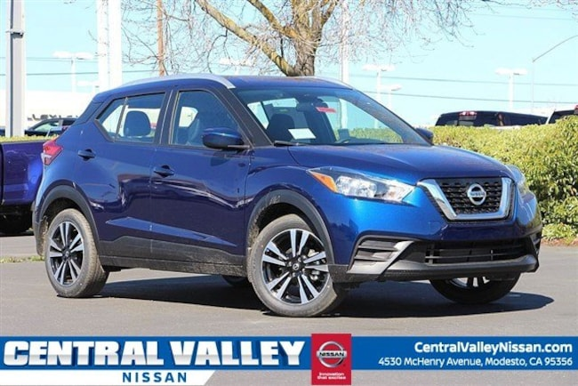New 2019 Nissan Kicks SV SUV for sale in Modesto, CA at Central Valley Nissan