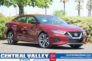 New 2019 Nissan Maxima 3.5 S Sedan 1N4AA6AV7KC374269 for sale in Modesto, CA at Central Valley Nissan
