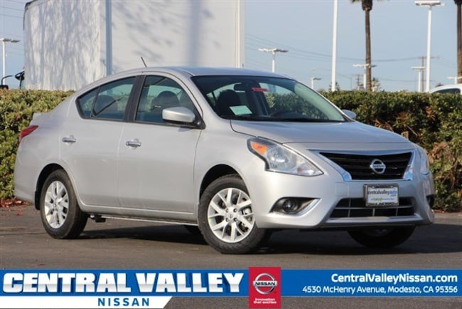New 2019 Nissan Versa 1.6 SV Sedan for sale in Modesto, CA at Central Valley Nissan