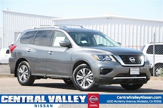 New 2019 Nissan Pathfinder S SUV 5N1DR2MN3KC596971 for sale in Modesto, CA at Central Valley Nissan