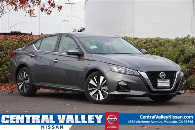 New 2019 Nissan Altima 2.5 SV Sedan for sale in Modesto, CA at Central Valley Nissan