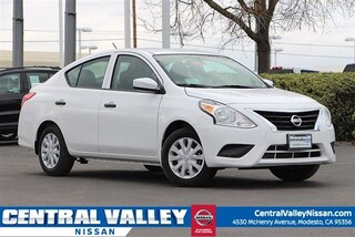New 2019 Nissan Versa 1.6 S+ Sedan for sale in Modesto, CA at Central Valley Nissan