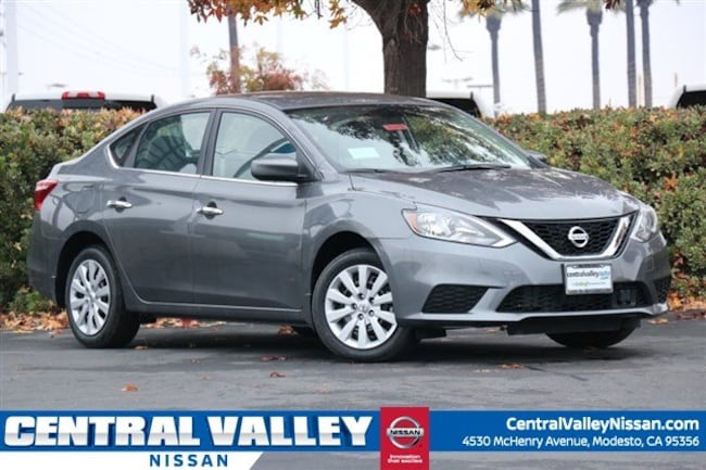 New 2019 Nissan Sentra S Sedan for sale in Modesto, CA at Central Valley Nissan