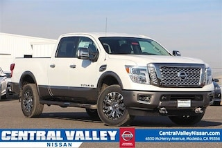 New 2019 Nissan Titan XD Platinum Reserve Diesel Truck Crew Cab 1N6BA1F42KN512884 for sale in Modesto, CA at Central Valley Nissan