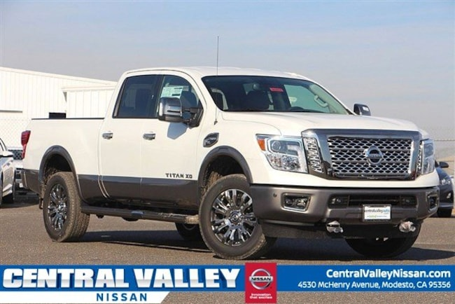 Nissan Diesel Truck >> New 2019 Nissan Titan Xd Platinum Reserve Diesel For Sale In