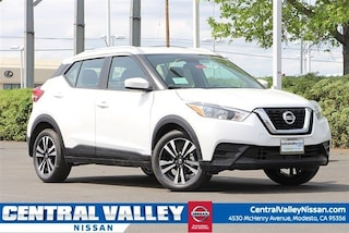 New 2019 Nissan Kicks SV SUV 3N1CP5CU2KL497033 for sale in Modesto, CA at Central Valley Nissan