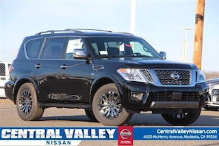 New 2019 Nissan Armada Platinum SUV JN8AY2NEXK9756869 for sale in Modesto, CA at Central Valley Nissan