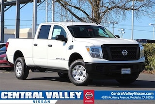 New 2019 Nissan Titan XD S Diesel Truck Crew Cab 1N6BA1F34KN516362 for sale in Modesto, CA at Central Valley Nissan