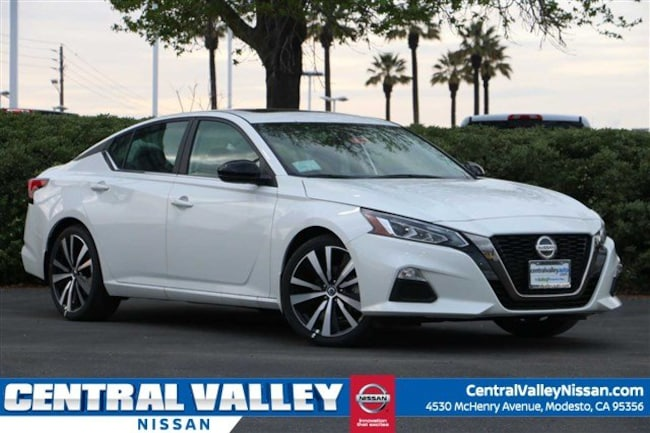 New 2019 Nissan Altima 2.5 SR Sedan for sale in Modesto, CA at Central Valley Nissan