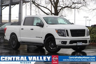 New 2019 Nissan Titan SV Truck Crew Cab 1N6AA1E69KN516204 for sale in Modesto, CA at Central Valley Nissan