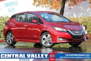 New 2019 Nissan LEAF SL Hatchback 1N4AZ1CP2KC301465 for sale in Modesto, CA at Central Valley Nissan