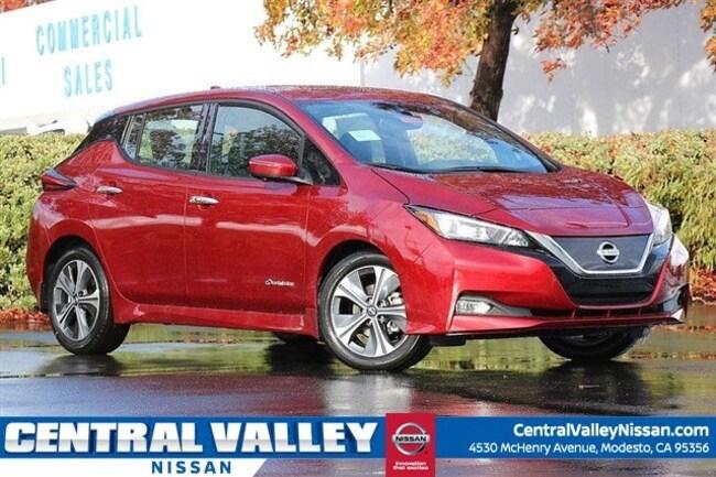New 2019 Nissan LEAF SL Hatchback for sale in Modesto, CA at Central Valley Nissan