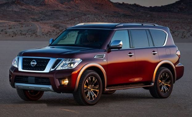 New Nissan Armada Earns Top Award