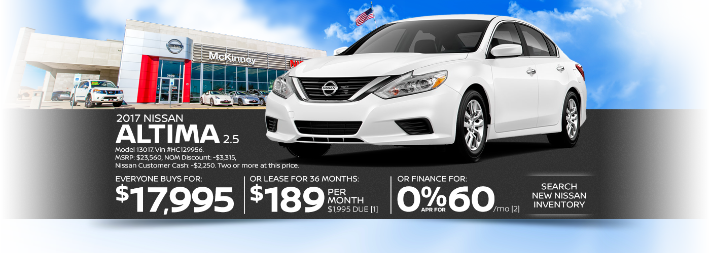 Nissan dealership serving the plano dfw areas nissan for Nissan motor acceptance corporation