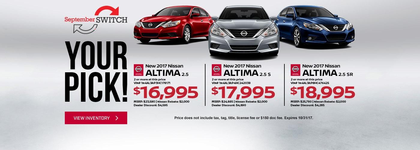 Nissan Dealerships Dfw >> Nissan Dealership Serving the DFW Area   Nissan McKinney