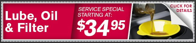 Lube Oil and Filter Special, Dallas