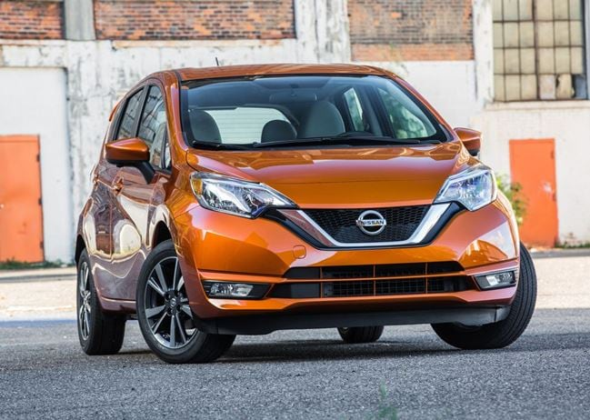 Nissan Versa Note Earns Top Award