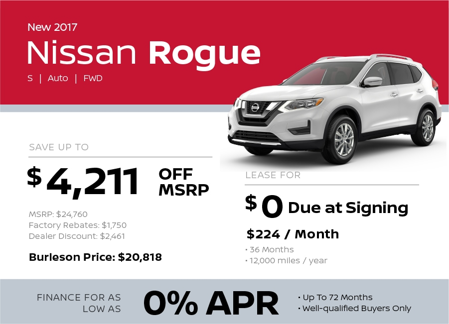 2017 Toyota Rogue Special in Burleson TX