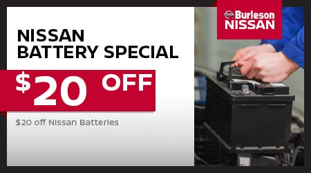Nissan Of Burleson >> Service Coupons At Burleson Nissan Dealership Near Fort Worth Tx