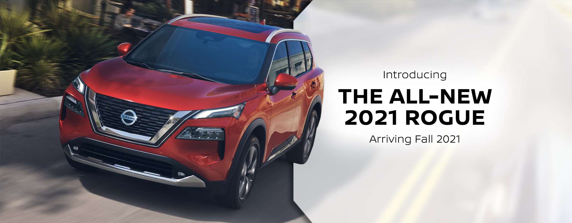 The All-New 2021 Nissan Rogue