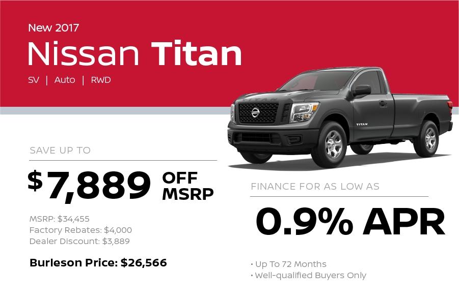 2017 Toyota Titan Special in Burleson TX