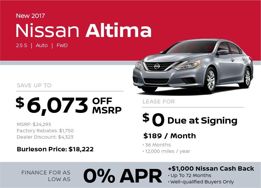 2017 Toyota Altima Special in Burleson TX