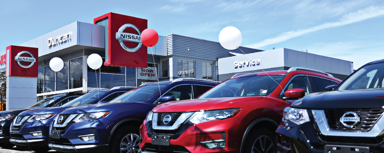 Nissan of Duncan | New Nissan dealership in Duncan, BC V9L 3R7