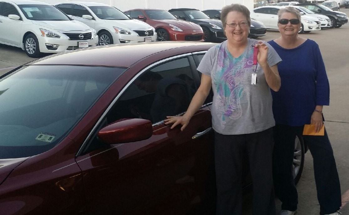 Another Happy customer at Fort Worth Nissan!