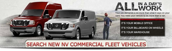 As A Business Certified Dealer, Fort Worth Nissan Is Able To Offer  Exclusive Commercial Incentive Packages, While Providing Dedicated  Commercial Vehicle ...