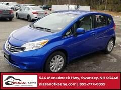 2014 Nissan Versa Note SV Hatchback For Sale near Keene, NH