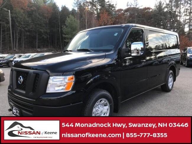 2018 Nissan NV Cargo NV2500 HD SV V8 Van Cargo Van [SGD, L92, K-I, KH3, FLO, B92] For Sale in Swazey, NH