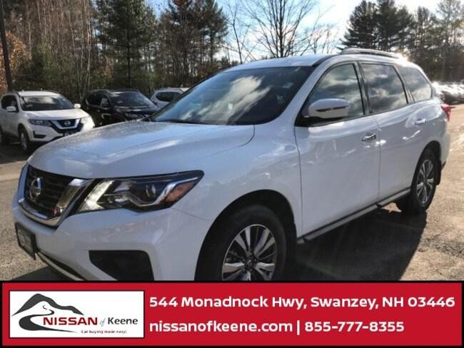 2019 Nissan Pathfinder S SUV [B10, SGD, L92, C03, QAK, G-0, FL2] For Sale in Swazey, NH