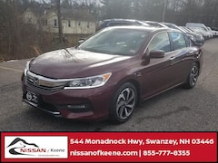 Used 2017 Honda Accord EX-L Sedan For Sale in Swanzey, NH
