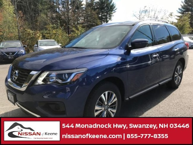 2019 Nissan Pathfinder S SUV [L92, RBY, G-0, FL2] For Sale in Swazey, NH