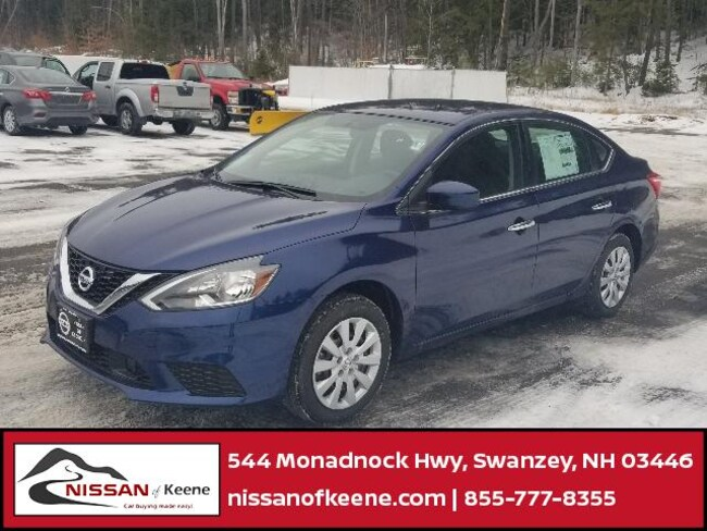 2019 Nissan Sentra S Sedan [G-I, L92, C03, FLO, RAY] For Sale in Swazey, NH