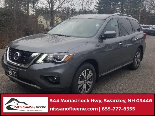 2019 Nissan Pathfinder SV SUV [B10, TE1, ALL, L92, G-0, N10, FL2, KAD, IKP, SGD, U01, X01] For Sale in Swazey, NH