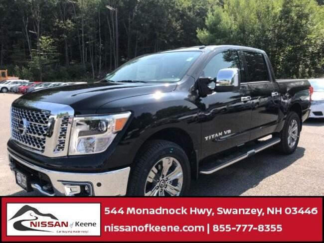2018 Nissan Titan SL Truck Crew Cab [G-I, -B12, G41, C03, G01, CHR, TW2, T02, -Z66, Z66, B93, B94, SG3, FOG-O, B12, L92, M11, FL2, -M11, W10, MD1] For Sale in Swazey, NH