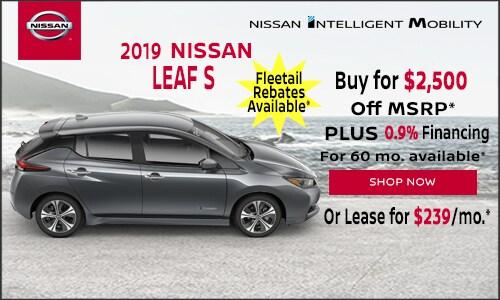 New Nissan Leaf Specials Nissan Of Keene