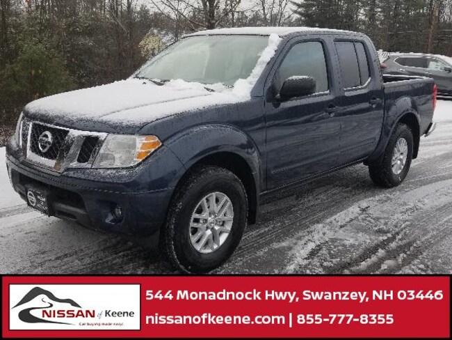 2019 Nissan Frontier SV Truck Crew Cab [VAL, L92, RBG, C03, K11, W-0, -K11, K01, FL2] For Sale in Swazey, NH
