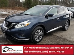 2016 Nissan Murano SL SUV For Sale near Keene, NH