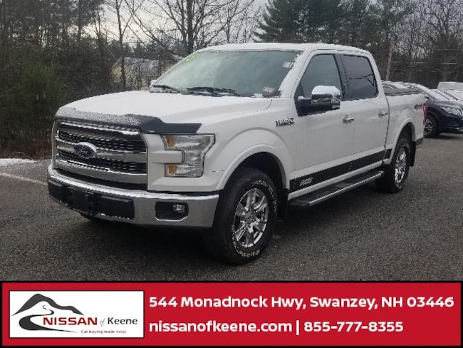 2015 Ford F-150 Truck SuperCrew Cab [501A, 99F, 43V-R, 50N-R, XL3, 86L-0] For Sale in Swanzey NH