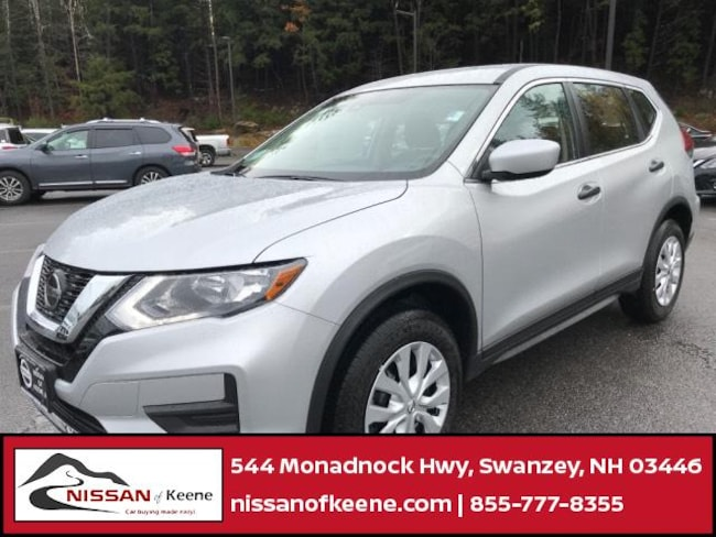 2019 Nissan Rogue S SUV [L92, C03, G-0, FL2, K23] For Sale in Swazey, NH