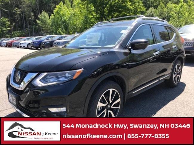 2018 Nissan Rogue SL SUV [PLA, G41, PRM, K03, P01, -Z66, B92, BUM, Z66, B93, B94, L92, G-0, FL2, SGD, BAR, U35, -U35] For Sale in Swazey, NH