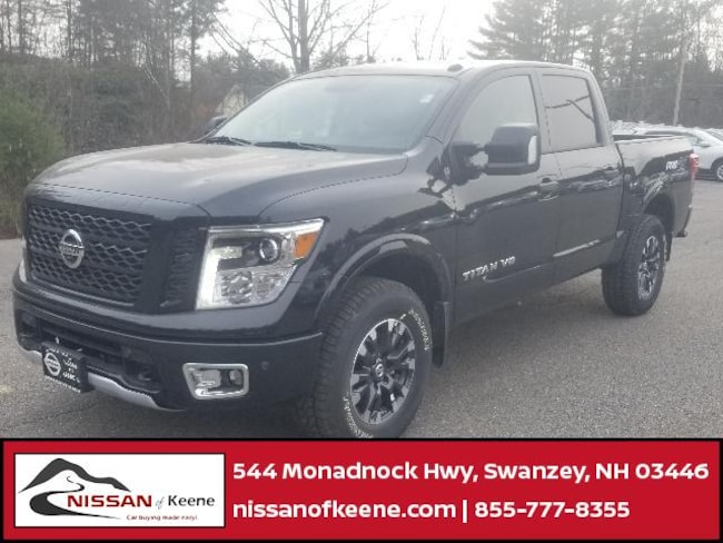2018 Nissan Titan PRO-4X Truck Crew Cab [G41, G01, PRM, -K11, K04, K03, -Z66, X03, B92, X02, Z66, B94, SG2, FOG-O, CN4, G-1, K11, G-3, K13, MON, UT3, -K13, MD1] For Sale in Swazey, NH