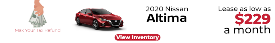 Lease a New Nissan Altima