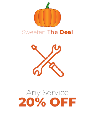 Any Service 20% OFF!