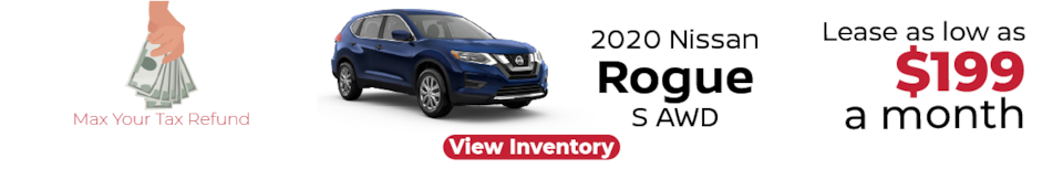 Lease a Nissan Rogue